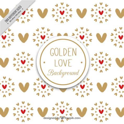 fondo de corazones vintage descargar vectores gratis fondo de corazones vintage dorados descargar vectores gratis