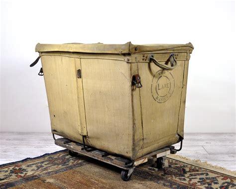 Vintage Industrial Laundry Cart / Laundry Hamper / by HavenVintage