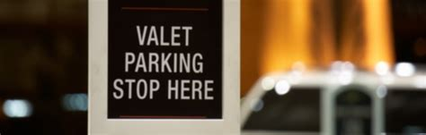 valet meaning information about parking