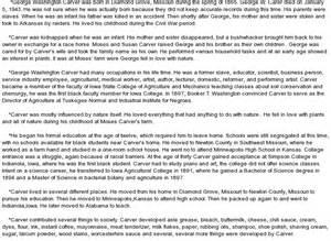 George Washington Essay by George Washington Carver Essay Outline Copywriterquotes X Fc2