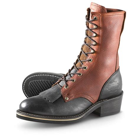 mens with boots s guide gear 174 dorado kiltie packer boots brown
