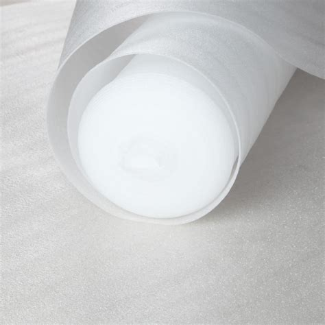 White Foam Laminate Flooring Underlay   50% OFF! Fast UK