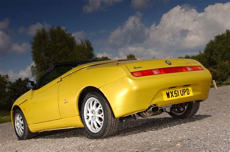 used car buying guide alfa romeo spider autocar