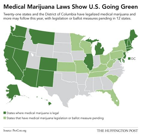 states with legal weed this map shows just how quickly america has embraced