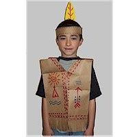 pattern for paper bag indian vest paper bag native american vest