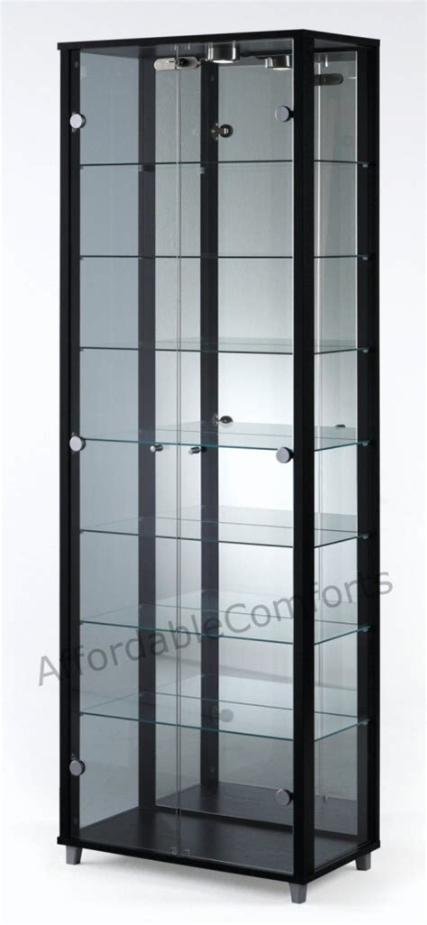Display Cabinet Lockable by Lockable Glass Display Cabinets Corner Single