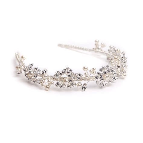 Handmade Tiaras - handmade eveline wedding tiara by rosie willett designs
