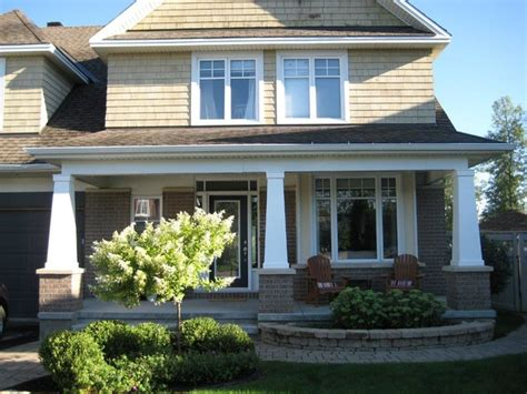 home exterior design with pillars exterior columns craftsman exterior ottawa by house of carpentry