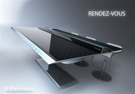 innovation cuisine the table that is a kitchen rendez vous an electrolux