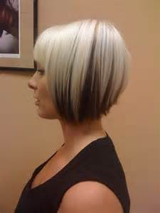 photos of hairstyles with on top and underneath blonde bob with dark underneath hair pinterest the