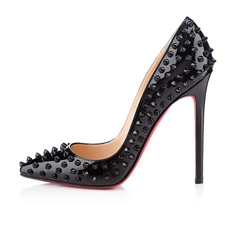 high heels with spikes 2018 christian louboutin bottom pigalle spikes 12cm