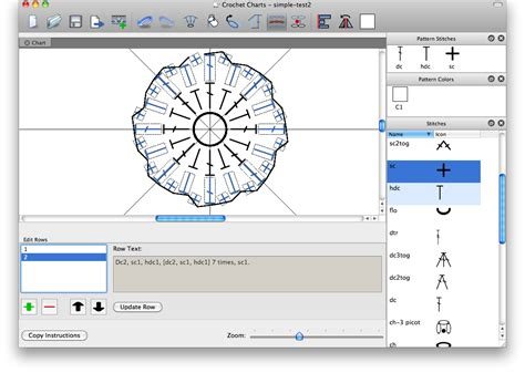 pattern making software crochet diagram generator gallery how to guide and refrence