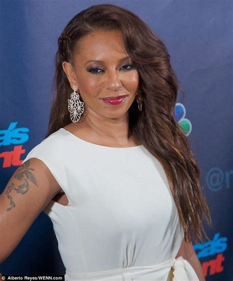mel b tattoo mel b side cornrow braid make me make up and