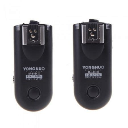 Wireless Flash Trigger Yongnuo Rf 603c Ii For Canon 24ghz 1 yongnuo rf 603c ii wireless remote flash trigger c3 for canon 5d 1d 50d sales
