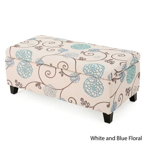 breanna floral fabric storage ottoman by christopher home best 25 fabric storage ottoman ideas on