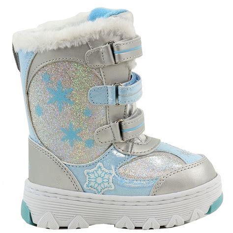 disney frozen toddler s fashion winter snow boots