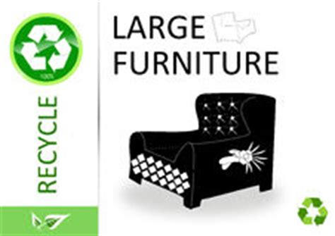 recycling sofas for free recycle large electronic appliances stock vector image