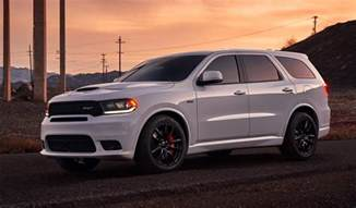 Dodge Suvs 2018 Dodge Durango Srt Quot Most Powerful 3 Row Suv Quot