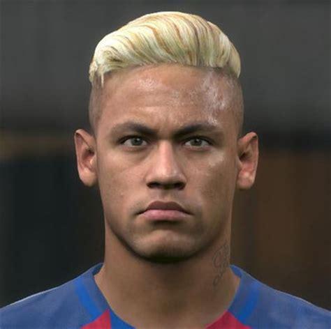 neymat blond ultigamerz pes 2016 neymar jr face with new blonde hair