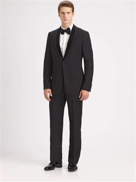 armani shawl collar tuxedo in for men lyst