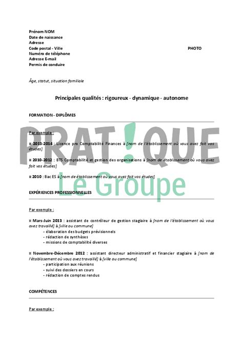 Lettre De Motivation Stage Finance Comptabilité Resume Format Mod 232 Les De Cv Pour Stage
