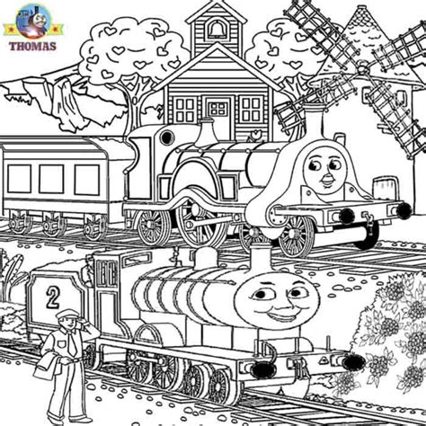 emily train coloring page thomas coloring pages for teenagers printable worksheets