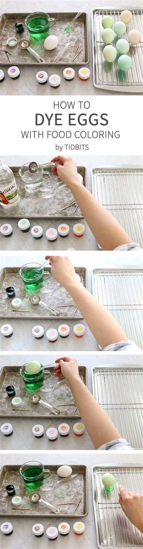 how to dye easter eggs with food coloring how to dye eggs with food coloring tidbits