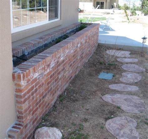 garden brick planter designs home design elements