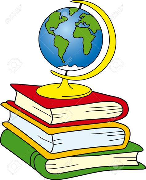 libro geography and history students dictionary book clipart 22