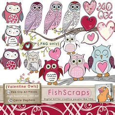 doodle intan owls clip doodles digital graphics by