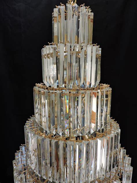 modern chandelier sale 5 mid century modern murano glass prism