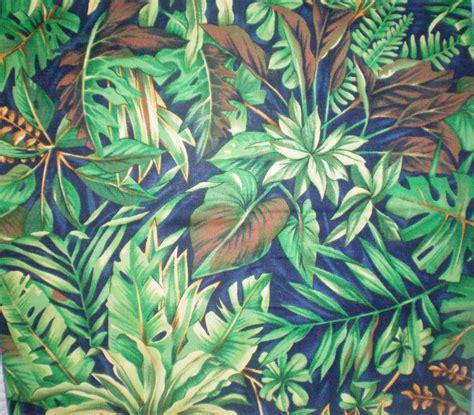 Jungle Pattern Fabric | gorgeous green jungle print fabric green fabric green ferns