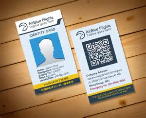 2 free company employee identity card design templates