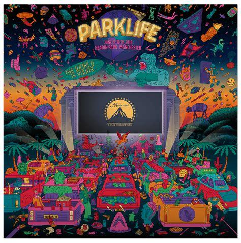 Parklife 2018 - guy-field Parklife Graphics