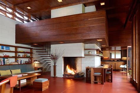 frank lloyd wright living room frank lloyd wright interiors homedesignboard