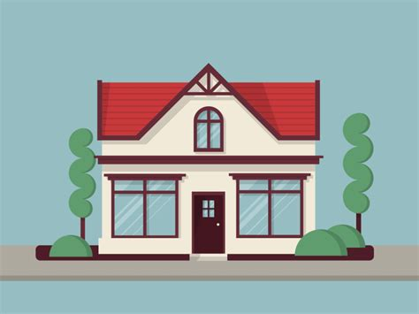 house animation animation  construction real estate