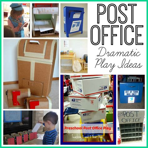 Can I Mail At The Post Office by Post Office Dramatic Play