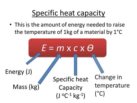 How To Find Specific On Specific Heat Capacity