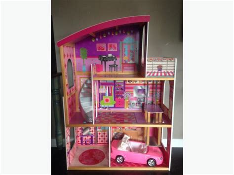 barbie doll houses with elevator large barbie dollhouse elevator convertible plus more duncan cowichan