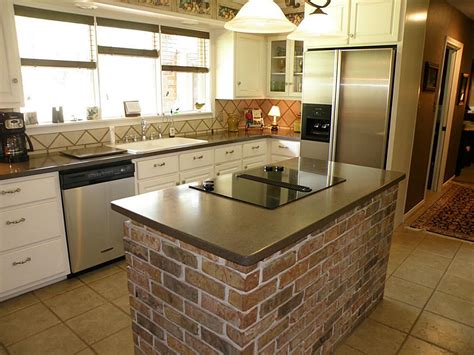 brick kitchen designs 16 classy kitchen island design ideas plus costs roi