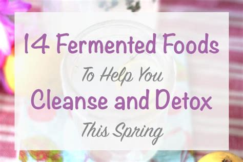 Foods That Help You Detox After by 14 Fermented Foods To Help You Cleanse And Detox This