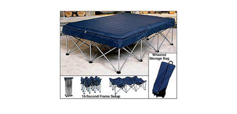cabelas folding air bed frame  queen air bed  pump