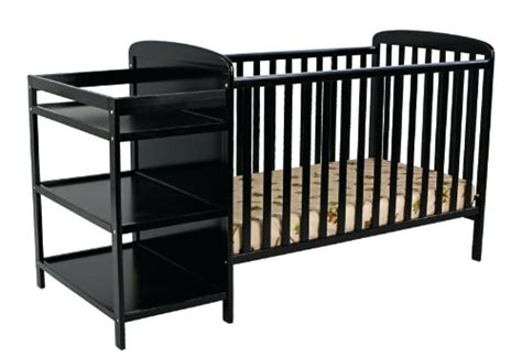 Baby Crib With Changing Table Attached Cribs With Attached Changing Table Thelt Co