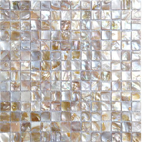seashell tile backsplash shell tile of pearl tiles bathroom wall tile