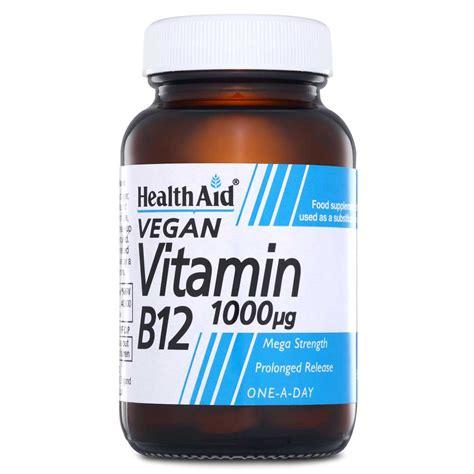 Vitamin Holisticare Healthscoop Healthaid Vitamin B12 1000ug Pr 50 Tablets