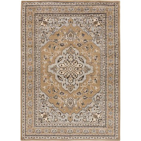 weavers area rugs artistic weavers peroz taupe 2 ft x 3 ft indoor area rug s00151024803 the home depot