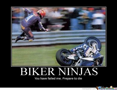 Biker Chick Meme - biker ninjas by grandthefteverything meme center