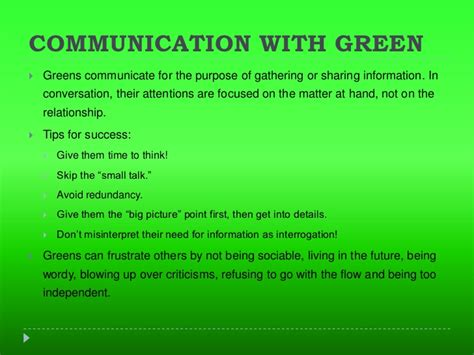 green color meaning the gallery for gt true colors personality test
