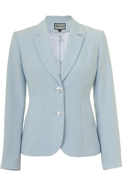 light blue suit jacket womens busy clothing busy corporation ltd