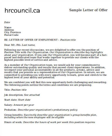 Sle Employment Letter Of Intent Offer Letter Of Intent 28 Images Letter Of Intent Loi Appointment Letter 60 Sle Letter Of